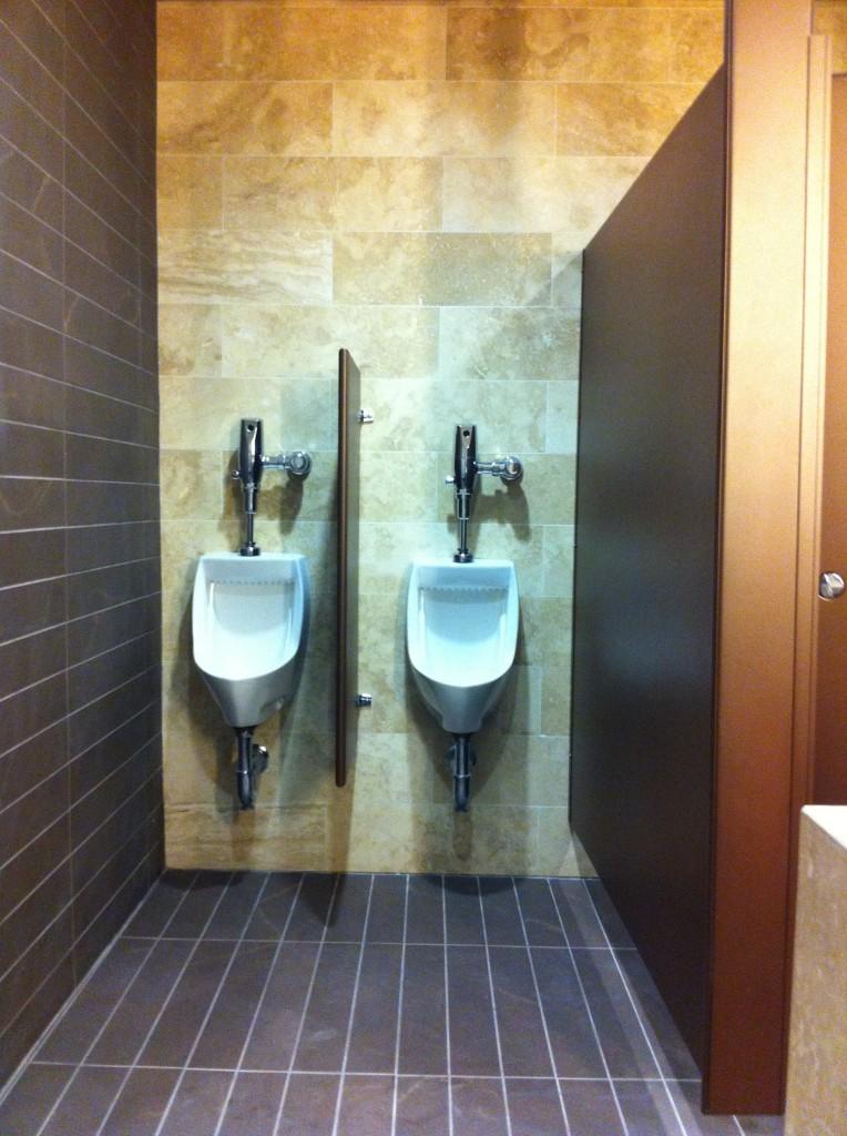 Mavi New York Typical Urinal Screens Layout Mavi New York