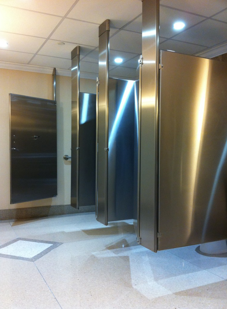 Mavi New York Toilet Partitions Mavi NY - Steel bathroom partitions