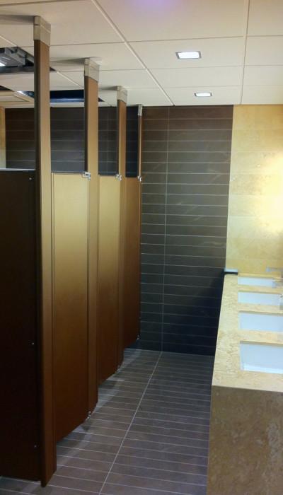 Mavi New York Ceiling Hung Powder Coated Metal Toilet