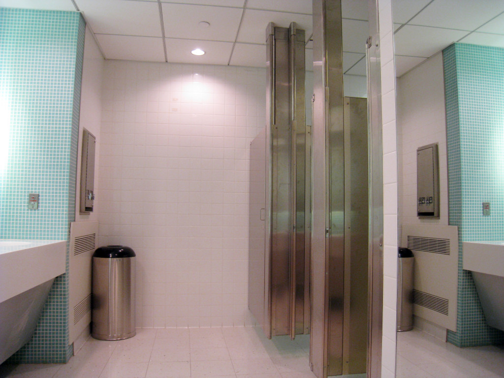 Tags Ceiling Anchored Stainless Steel Toilet Partitions