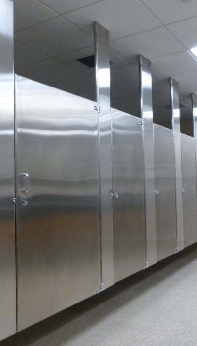 Mavi New York Ceiling Anchored Stainless Steel Toilet