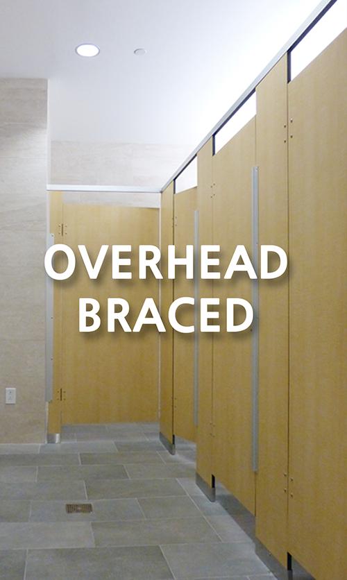 Overhead braced