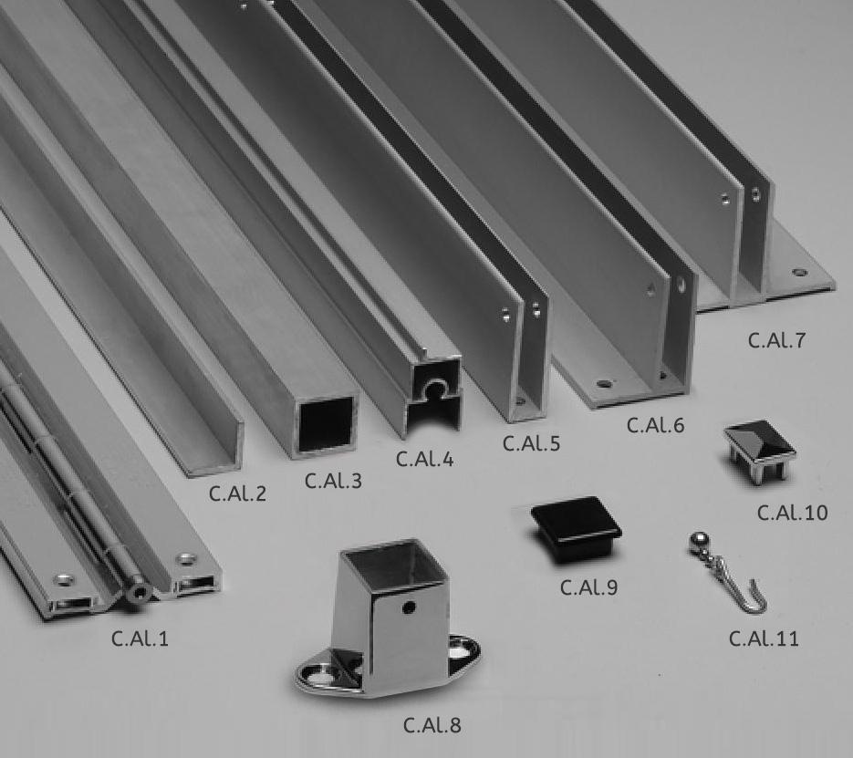 Mavi New York Continuous Hardware Aluminum Mavi Ny