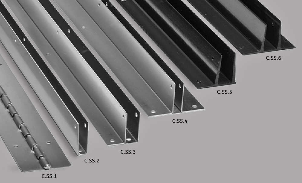 Continuous hardware stainless steel