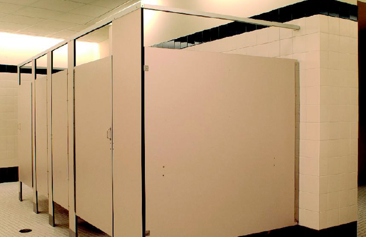 Bathroom Partitions Materials mavi new york phenolic black core bathroom stalls - mavi new york