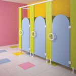 ASI Alpaco Kids Bathroom Partitions