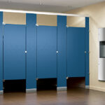 ASI Solid Plastic Bathroom Partitions