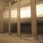 Bradley Fusion Granite & Stainless Steel Bathroom Partitions