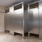 Bradley Stainless Steel Bathroom Partitions