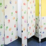 Ironwood Manufacturing Custom Laminate Bathroom Partition