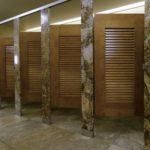 Ironwood Manufacturing Stone Bathroom Partition