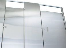 Hadrian Stainless Steel Bathroom Partitions